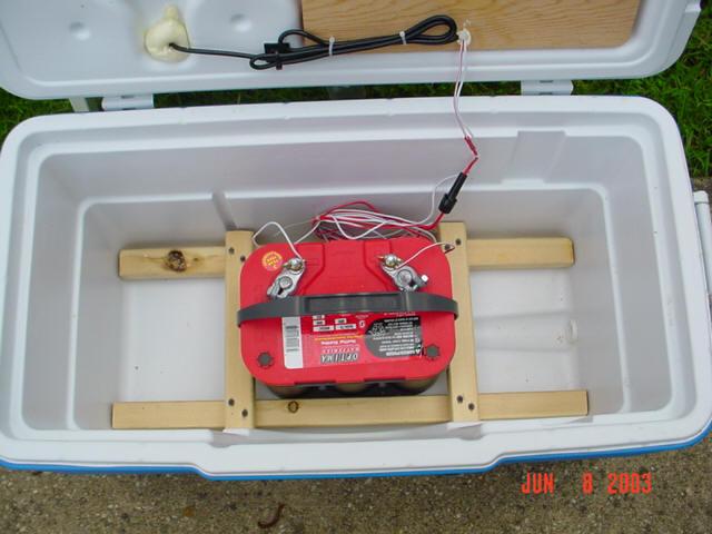 ice chest radio plans